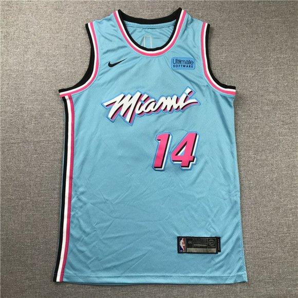 Nba Shirts Miami Heat Tyler Herro Blue City Edition Jersey Poshmark